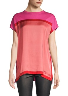 Escada Cotton Colorblock Tee