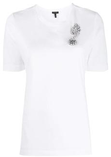 Escada crystal-embellished T-shirt
