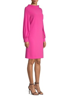 Escada Cut-Out Blouse Dress