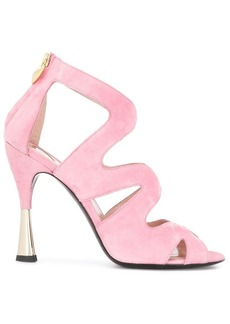 Escada cut out sandals