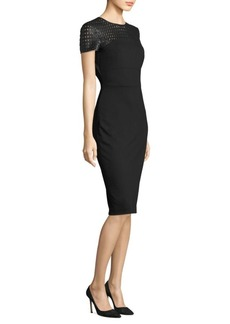 Escada Danikonax Jersey Sheath Dress