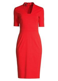 Escada Danisi Jersey Sheath Dress
