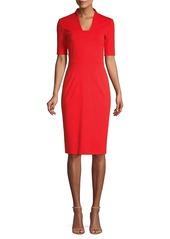 Escada Danisi Jersey Sheath Dress