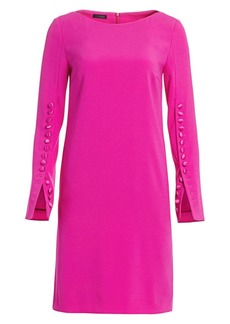 Escada Dehva Button-Trimmed Shift Dress