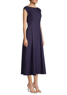 Escada Denissy Cotton Midi Dress