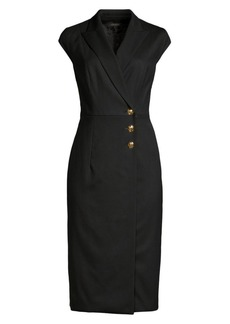 Escada Dhana Cap Sleeve Jacket Dress