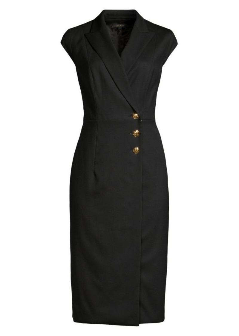 Escada Dhana Cap Sleeve Jacket Dress
