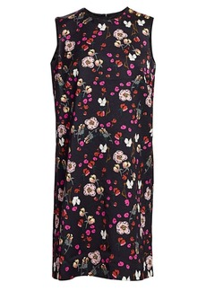 Escada Diarra Sleeveless Floral Mini Dress