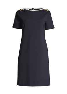 Escada Dinala Knit Sheath Dress