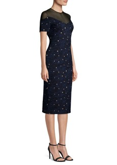 Escada Diveria Starry Night Cocktail Dress