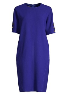 Escada Dixari Short Sleeve Tunic Dress