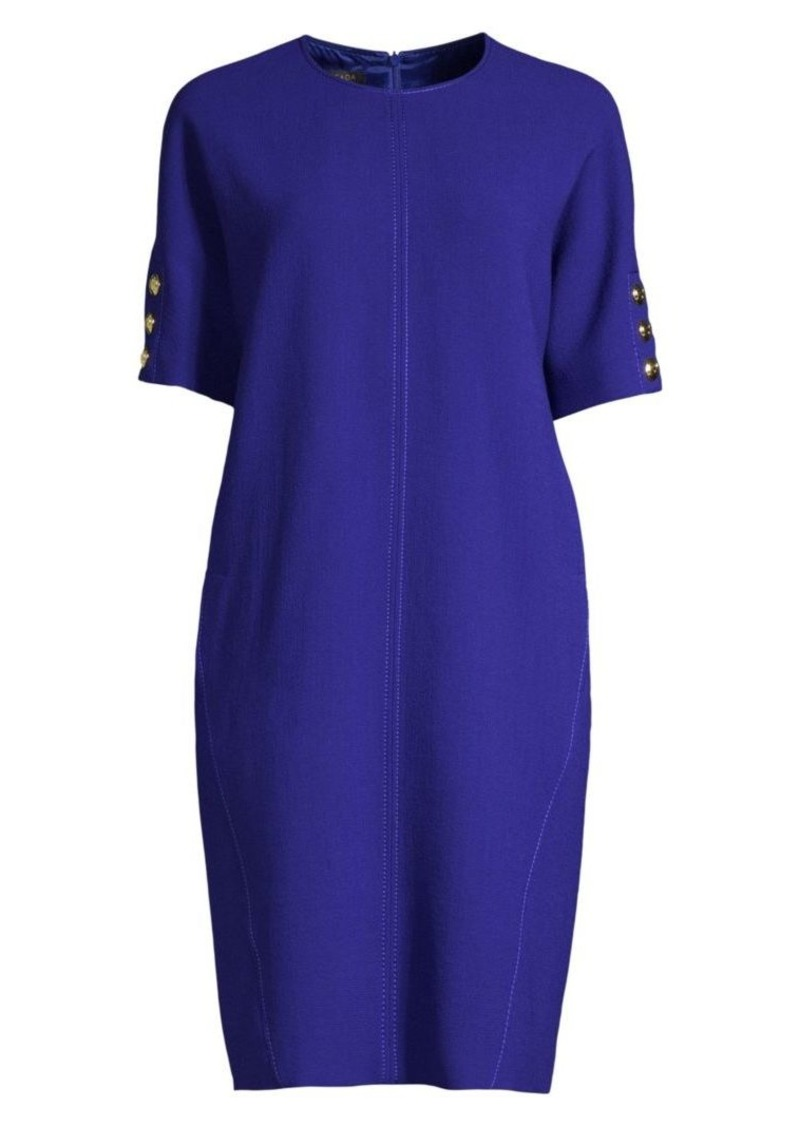 Escada Dixari Short Sleeve Tunic Dress