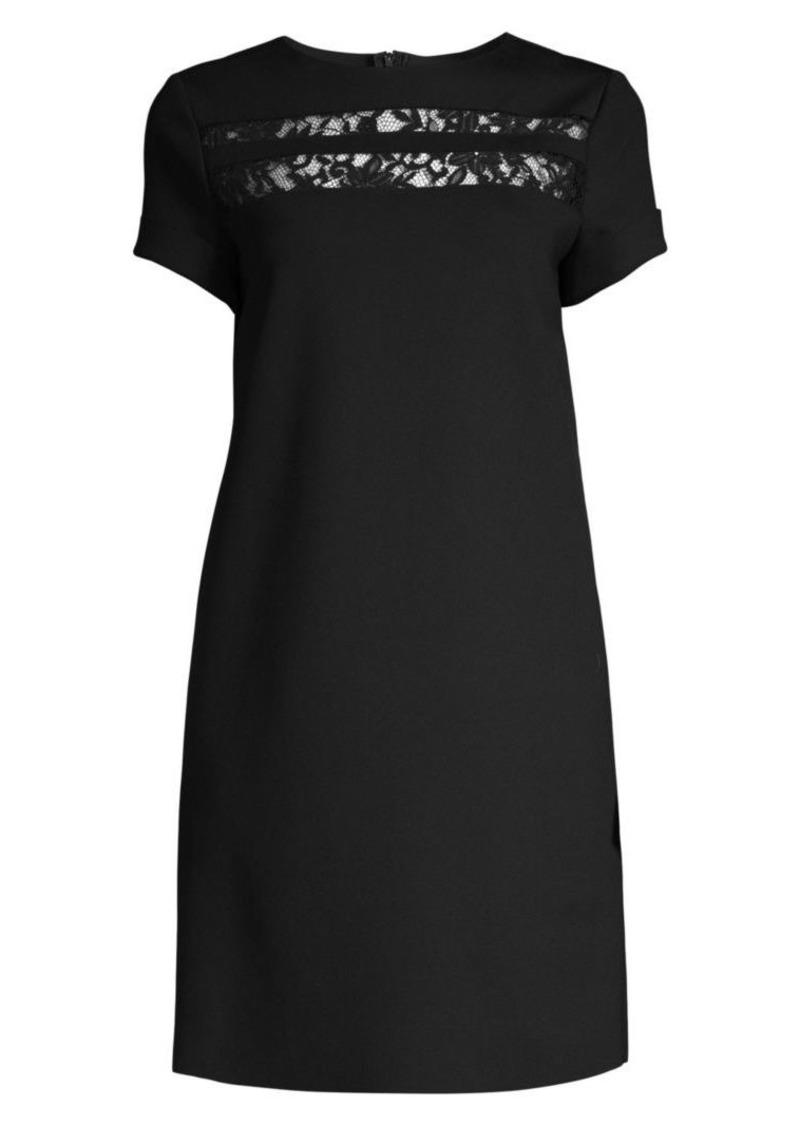 Escada Dymi Technical Jersey Sheath Dress