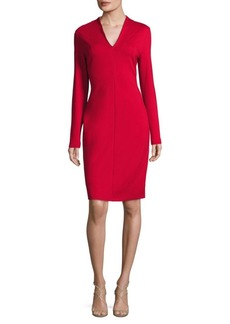 Escada Dzanna Long-Sleeve Dress