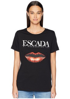 Escada Elabio Short Sleeve Logo Lips Tee