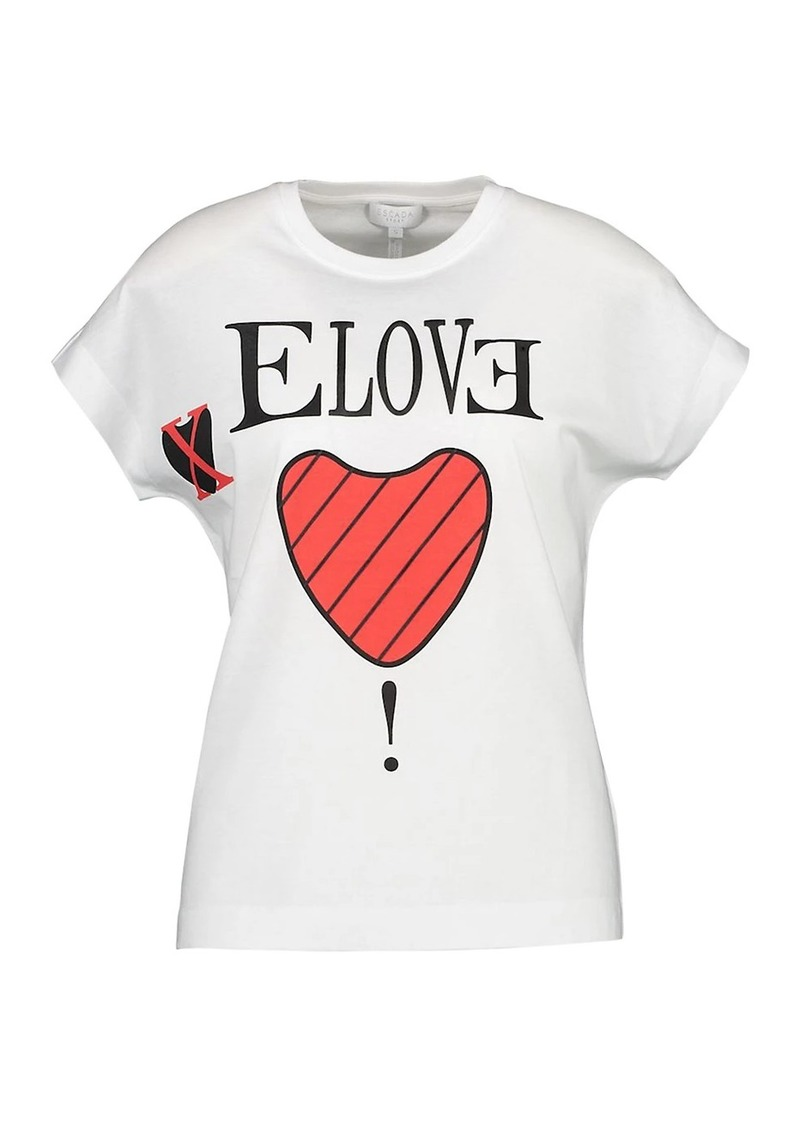 Escada Elove Graphic T-Shirt