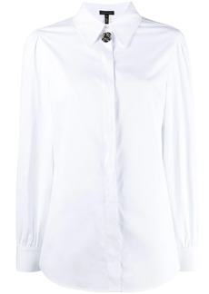 Escada embellished button shirt