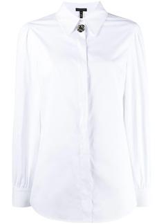 Escada embellished button shirt