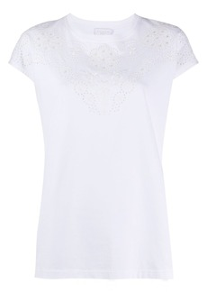 Escada embroidered-details T-shirt