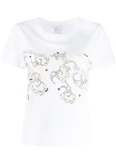 Escada embroidered T-shirt