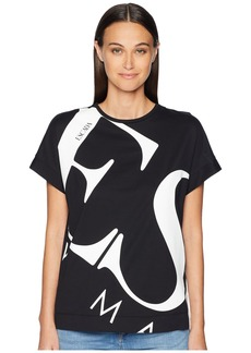 Escada Erial Exploded Logo Tee