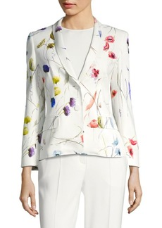 Escada Brikenab Floral Sequin Jacket
