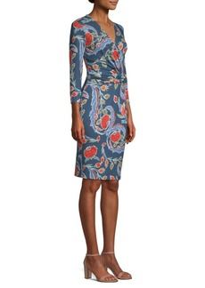 Escada Dalvasa Belted Jersey Dress
