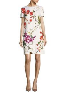 Escada Divisu Floral-Print Shift Dress