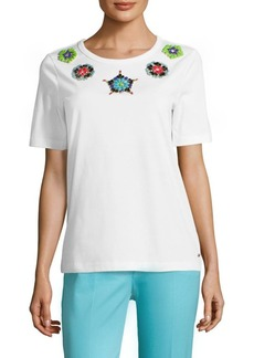 Escada Essma Embellished T-Shirt