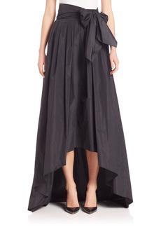 Escada Hi-Lo Taffeta Ball Gown Skirt