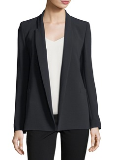 Escada Open-Front Shawl-Collar Blazer