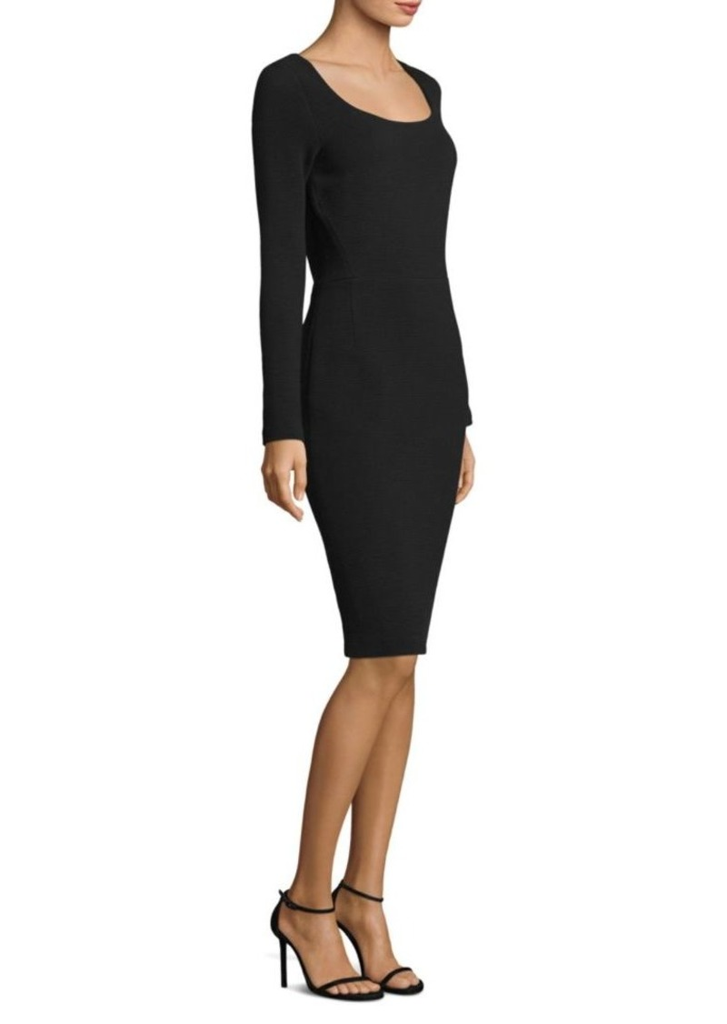 66f679ad Escada Ottoman Long Sleeve Sheath Dress | Dresses