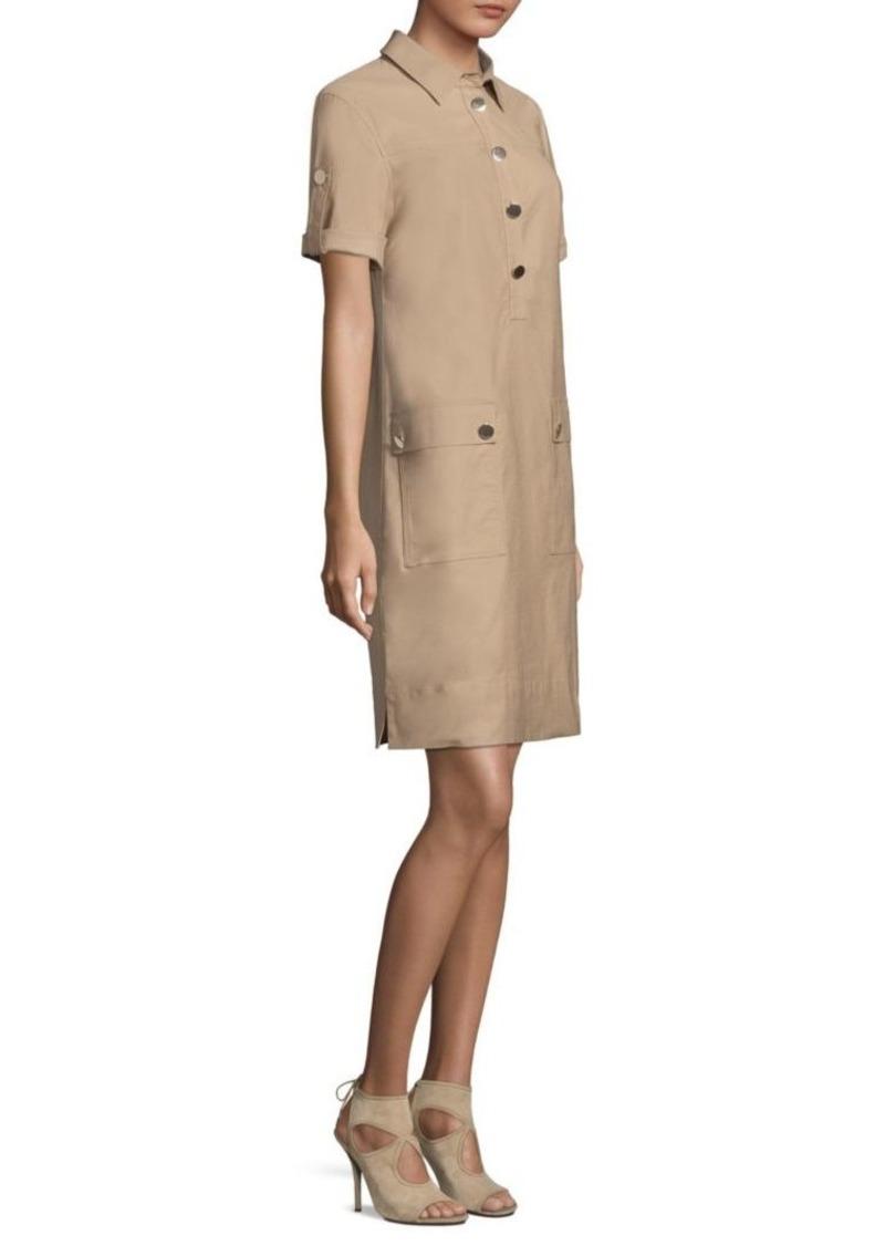 56d43d605c5 Escada Safari Shirt Dress