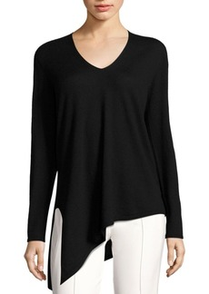 Escada Serno Asymmetrical Cashmere Sweater
