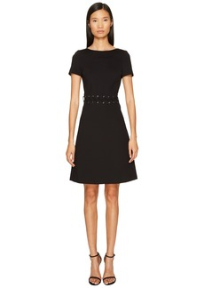 Escada Dacorda Braided Waist Dress