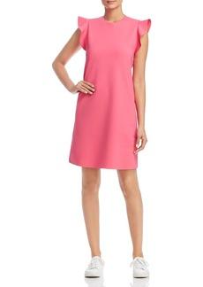 Escada Sport Delena Ruffle-Sleeve Shift Dress