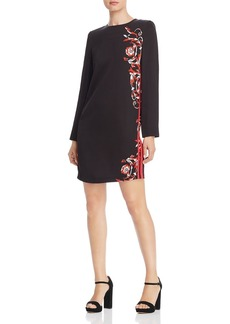 Escada Sport Dimati Printed Track-Stripe Dress