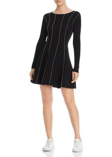 Escada Sport Doja Striped Mini Dress