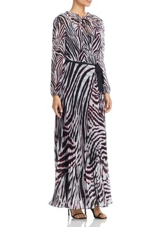 Escada Sport Dyma Zebra-Print Maxi Dress