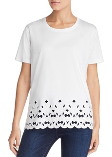 Escada Sport Eyalo Embroidered Tee