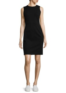 Escada Heathered Sheath Dress