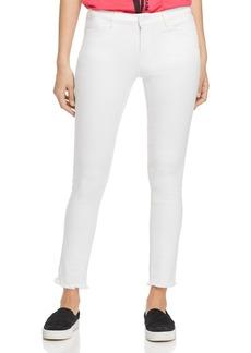 Escada Sport High-Rise Skinny Jeans in White