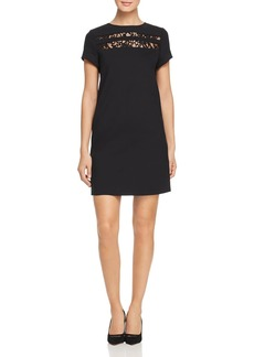 Escada Sport Lace Yoke Sheath Dress