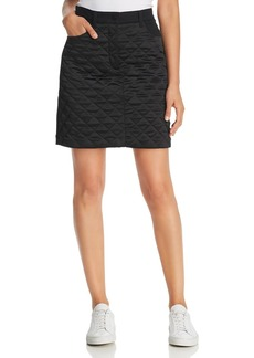 Escada Sport Ralla Quilted-Front Denim Mini Skirt