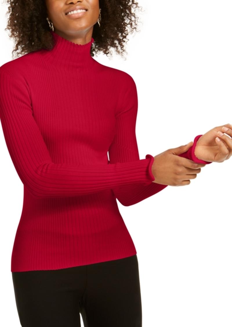 Escada Sport Ribbed Turtleneck Sweater