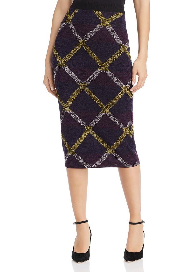 Escada Sport Rouda Diamond Knit Pencil Skirt