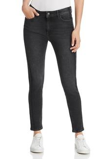 Escada Sport Skinny Ankle Jeans in Black