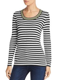 Escada Sport Striped Long-Sleeve Sweater