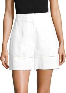 Escada Tellino Linen Shorts