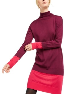 Escada Sport Turtleneck Double-Layer Dress